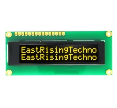 I2C 16x2 OLED Serial Character Display Module Screen,Yellow on Black ER-OLEDM1602-4Y
